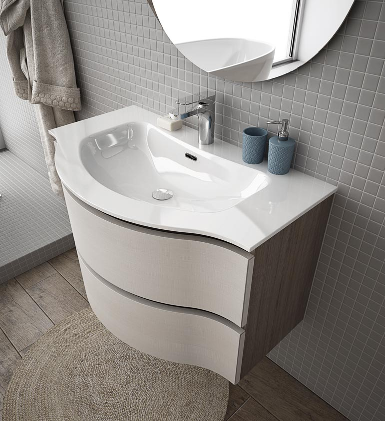 Arredo bagno urban design casa creativa e mobili ispiratori - Karol mobili bagno ...
